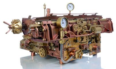 The steampunk mechanism.