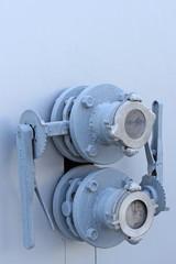 Fireman valve in wall