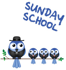 Sunday school meeting
