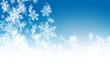 Eiskristalle, Schneeflocken, Blau, Himmel, Snowflakes, Weihnacht