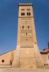 Tower mudejar of San Martin,Teruel. Spain