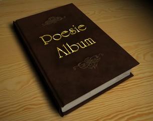 3D Buch - Poesiealbum