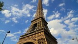 Eiffel Tower in Paris France during summer day