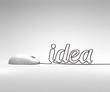 mouse and idea