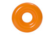 Swimming ring or life bouy on white. Clipping path included.