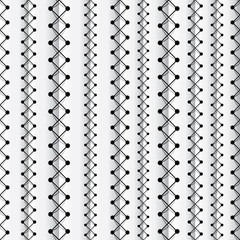Seams seamless pattern, vector background.