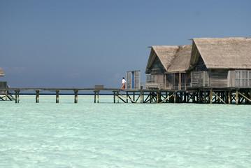 Butler in Villa, Maldives