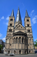Bonn's cathedral (Bonn's Minster), Germany