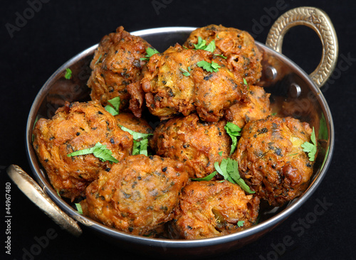 Indian Vegetable Pakora Food