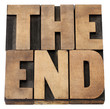 the end in wood type