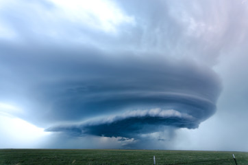 Supercell in Texas, May 2012