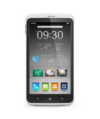 Smart Phone With Application Interface