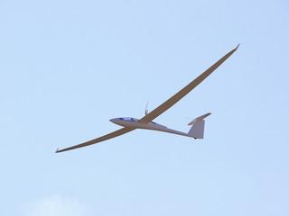 Segelflugzeug mit Motor