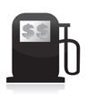 Gas Pump, High Fuel Prices Concept illustration design