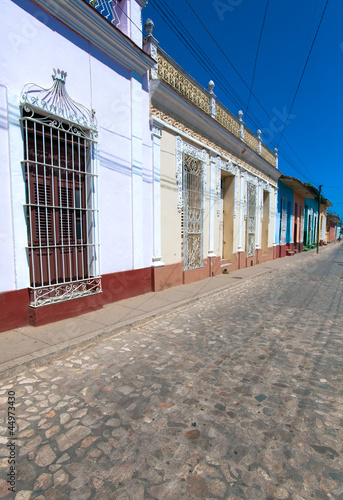 Houses in the old town, Trinidad, Cuba