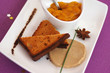 foie gras et ses tranches de pain d'épices 2