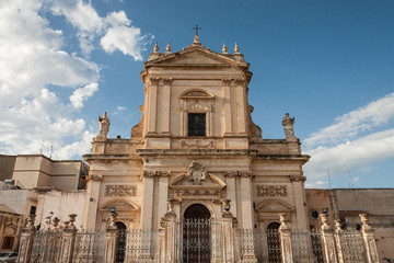 barocco cattedral in Ispica, Ragusa
