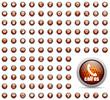 honey web icons set