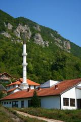 traditional mosque in Sarajevo, Bosnia and Herzegovina