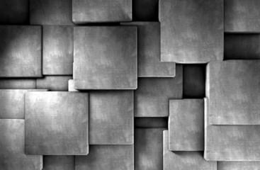 fondo abstracto con bloques de cemento