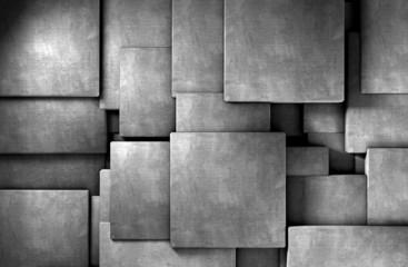 fondo abstracto 3d,bloques de cemento