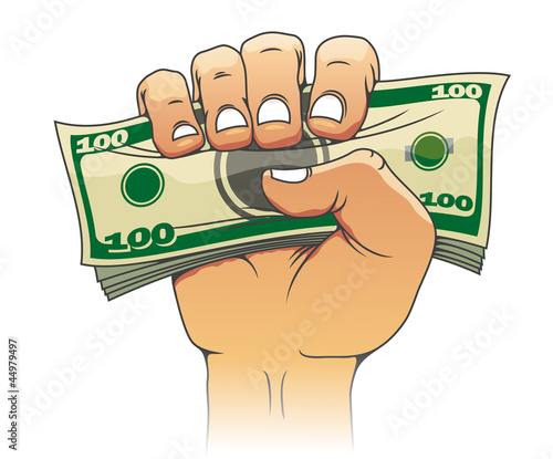 Money in people hand