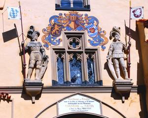 The entrance at Hoheschwangau castle