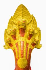 The big golden snake