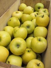 箱詰めリンゴ