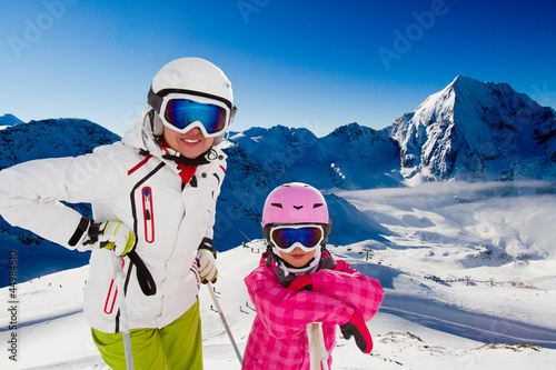 Skiing, winter , ski holidays