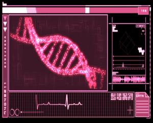 Pink DNA Helix technology