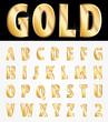 golden letters