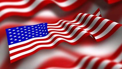 Loopable American Flag