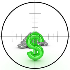 Target and dollars