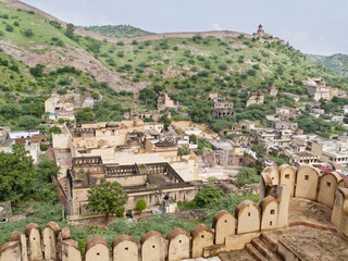 Amber fort located in Jaipur, Rajasthan state, India.