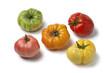 Diversity of beefheart tomatoes