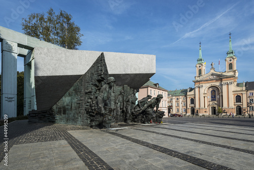 Warsaw Uprising Monument in Warsaw, Poland - 44995209