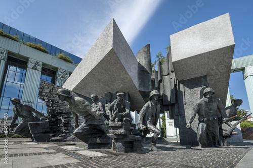 obraz PCV Pomnik Powstania Warszawskiego w Warszawie