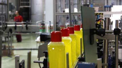 Production of Liquid Detergent