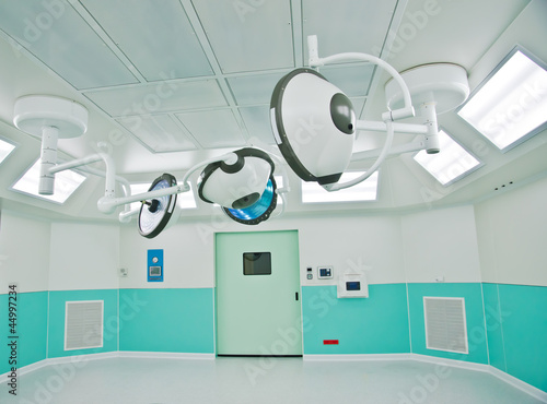 Lighting in surgery room in hospital