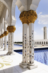 White Mosque in Abu Dhabi