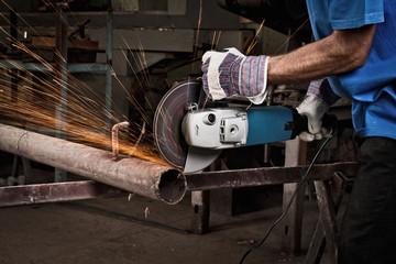 Обработка металла, железа