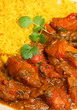 Indian Chicken Curry with Pilau Rice