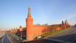View of  Moscow Kremlin  in  early summer morning
