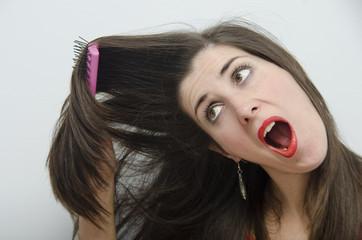 Enredo de cabellos