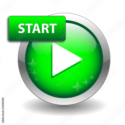 """START"" Web Button (power on continue click here go ok now here)"