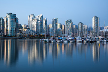 Incredible photo of Vancouver harbor, Vancouver, Canada