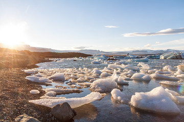 Gletscherlagune Jökulsarlon, Island