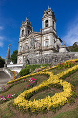 Sanctuary of Bom Jesus do Monte in Braga, north of Portugal