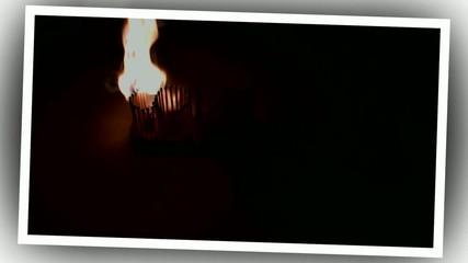 I love in fire